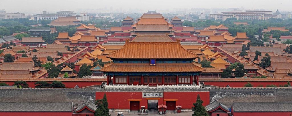 Пекин Запретный город Гугун обучение ТКМ в Китае
