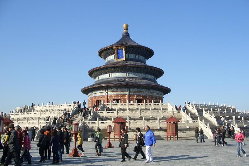 Пекин Храм Неба Тяньтань обучение ТКМ в Китае
