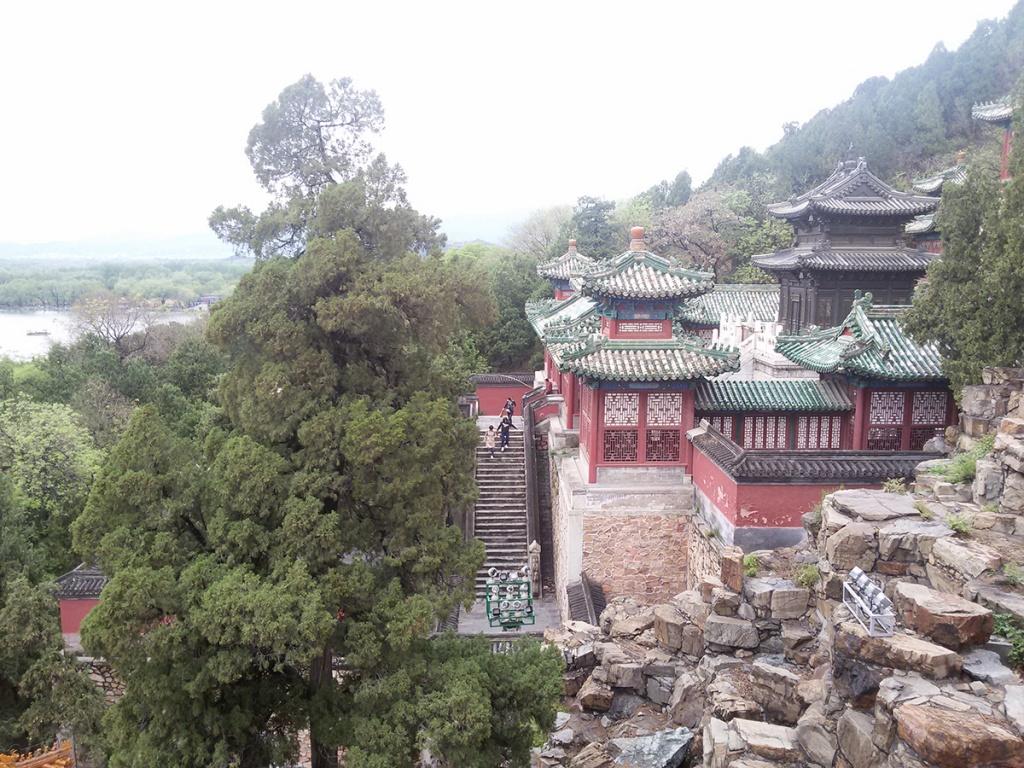 Пекин Парк Ихэюань обечение ТКМ в Китае